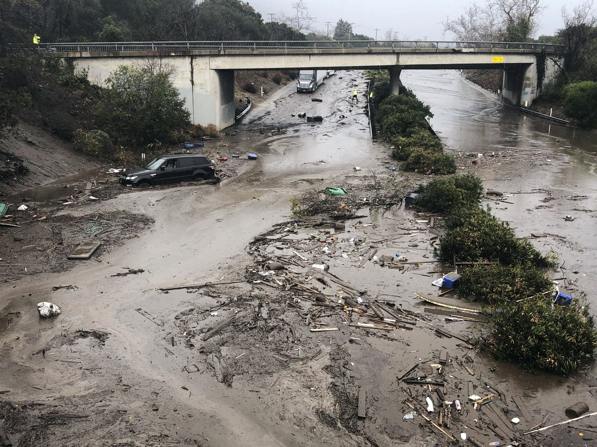 California Alerts Residents In Burn Areas About Flood And Mudslide Coverage