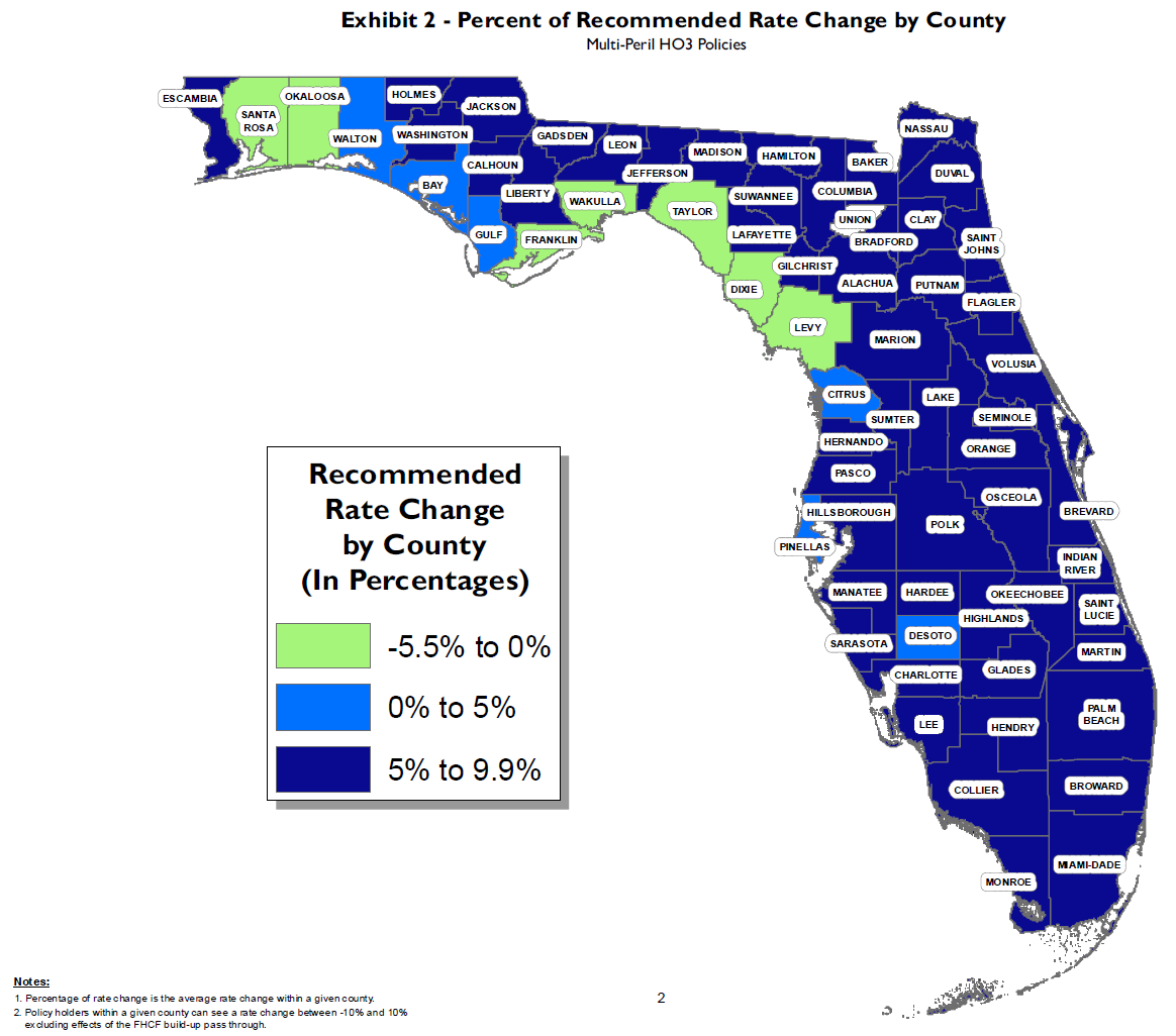 Florida's Citizens Delays Decision On Proposed 2019 Rate