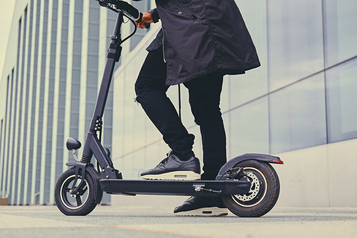 Lyft is rolling out its first electric scooters today