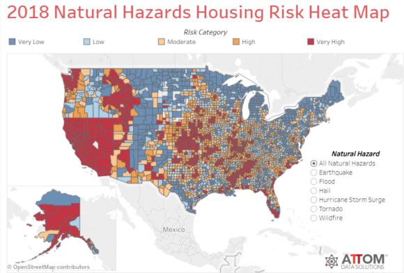 Natural Disaster Housing Risk Report