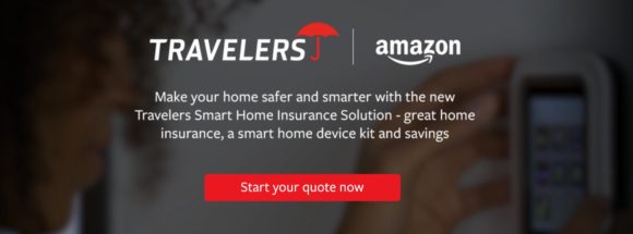 Image of: Philippines The Free Amazon Echo Dot And The Discounts On The Smart Home Kits Are Currently Available To Travelers Home Insurance Customers In California And Travelers Insurance Hotline Travelers Teams With Amazon To Offer Smart Home Products Insurance