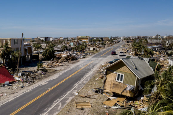 This Photo Shows Debris And Destruction In Mexico Beach Fla Friday Oct 12 2018 After Hurricane Michael Went Through The Area On 10