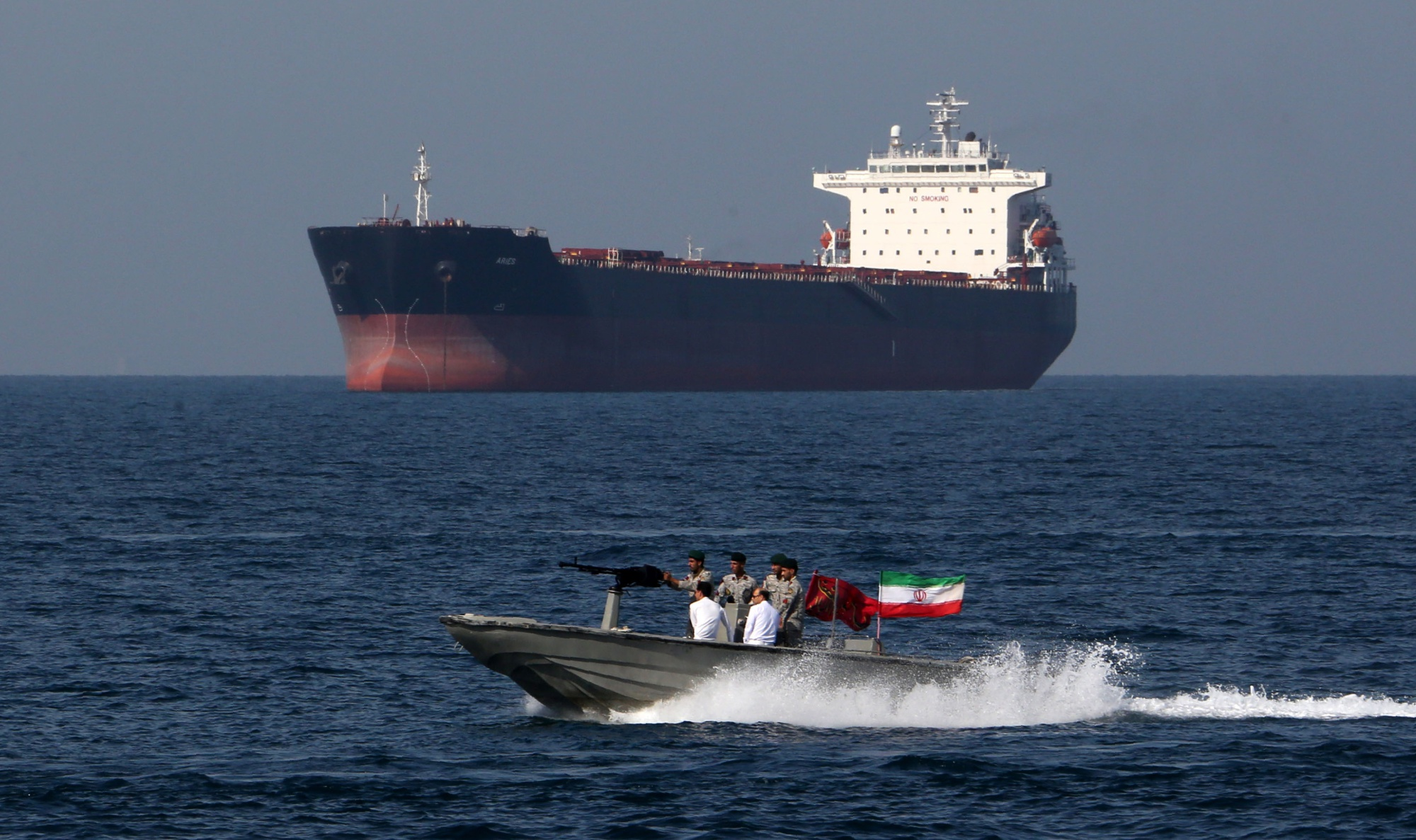 Suspected Attack on 2 Oil Tankers Near Strait of Hormuz Stokes Fears