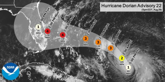 Hurricane Dorian: Florida residents preparing for