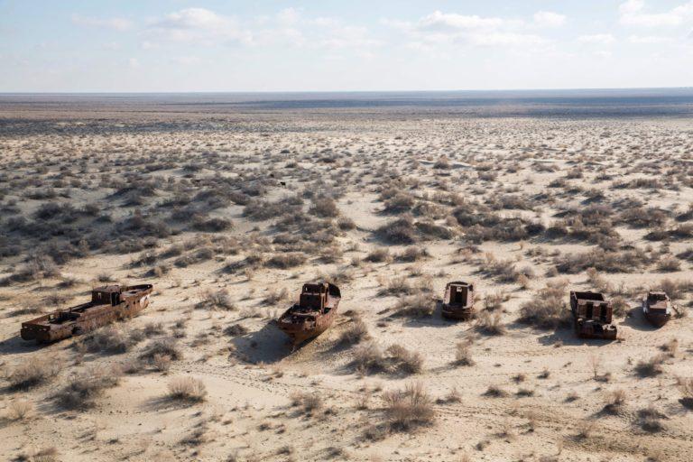 Умирающее Аральское море - жертва экологической халатности