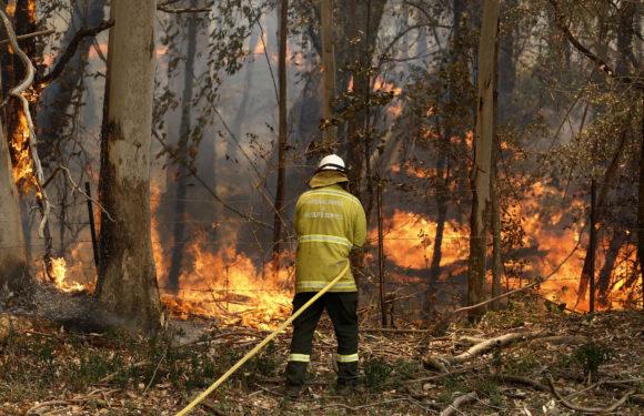 Австралия предупреждена о новых огненных торнадо