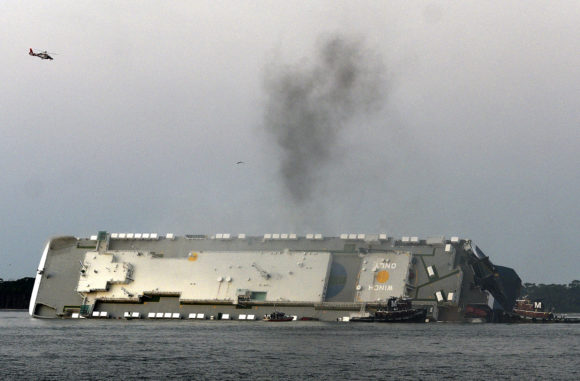 Georgia Port Foreman: No Issues Before Cargo Ship Overturned