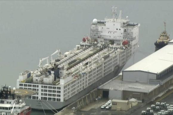 Three-day delay for WA ship virus test