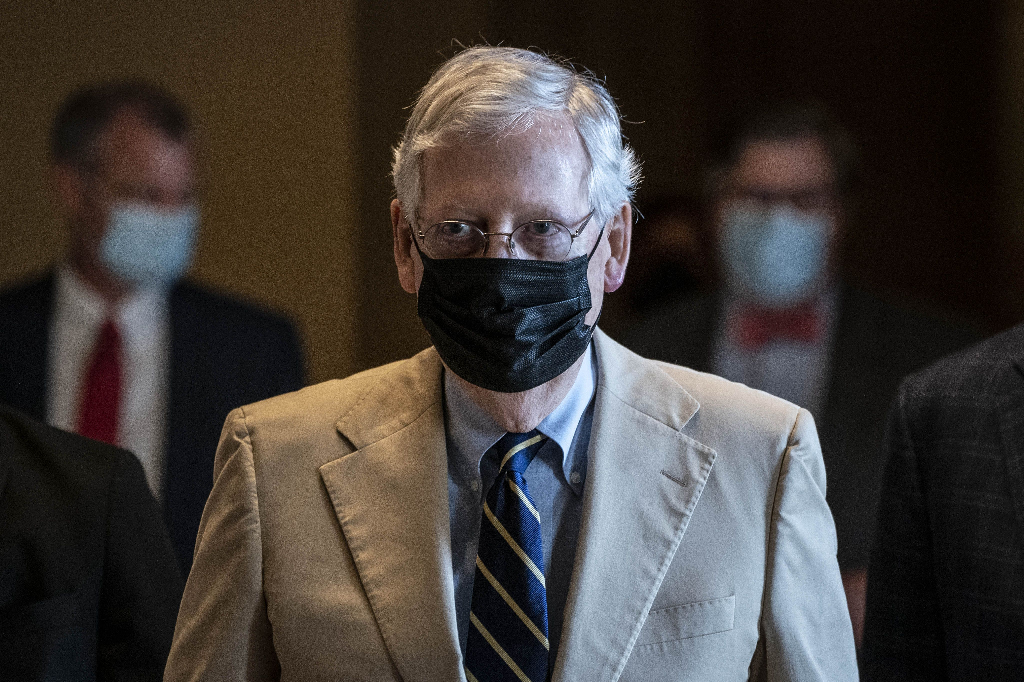 Mcconnell S Coronavirus Liability Shield Could Be Bargaining Chip In Relief Negotiations