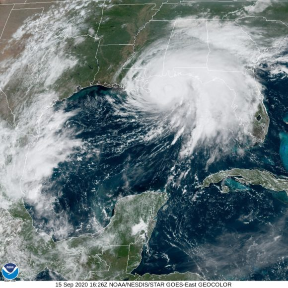 Historic Flooding from Hurricane Sally Could Hit Gulf Coast