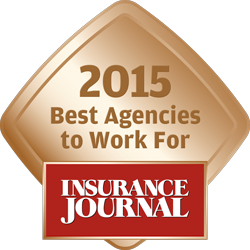 Insurance Journal's Best Agencies to Work For 2015