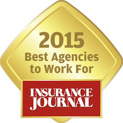 2015 Best Agencies to work for Insurance Journal