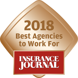 Insurance Journal's Best Agencies to Work For 2018
