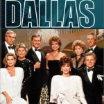 The cast of the television series, Dallas.