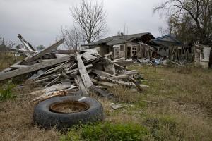 New Orleans' Ninth Ward after Hurricane Katrina