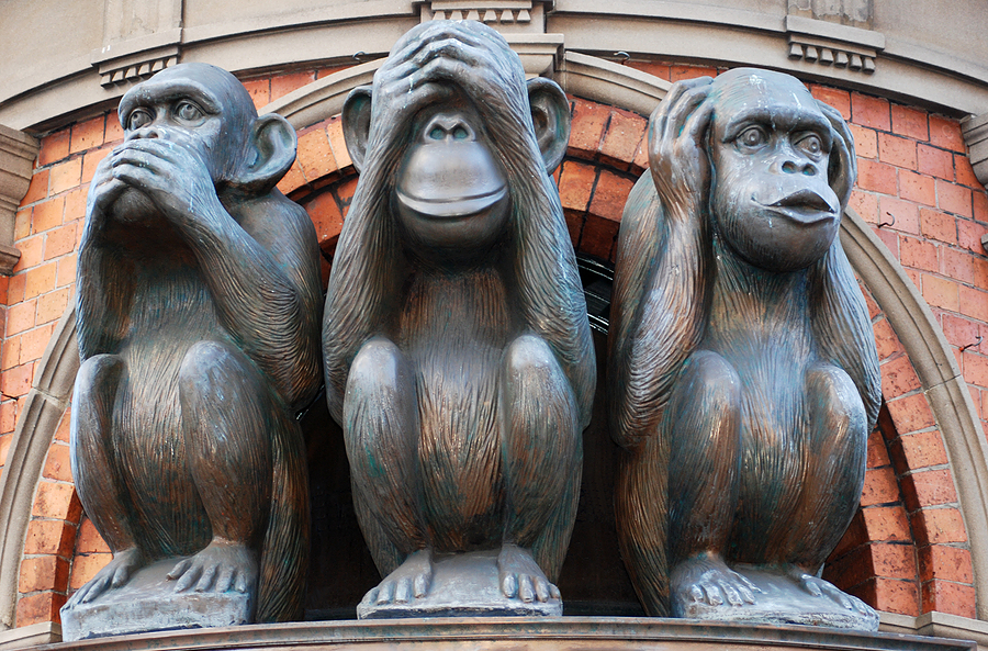speak no evil monkeys