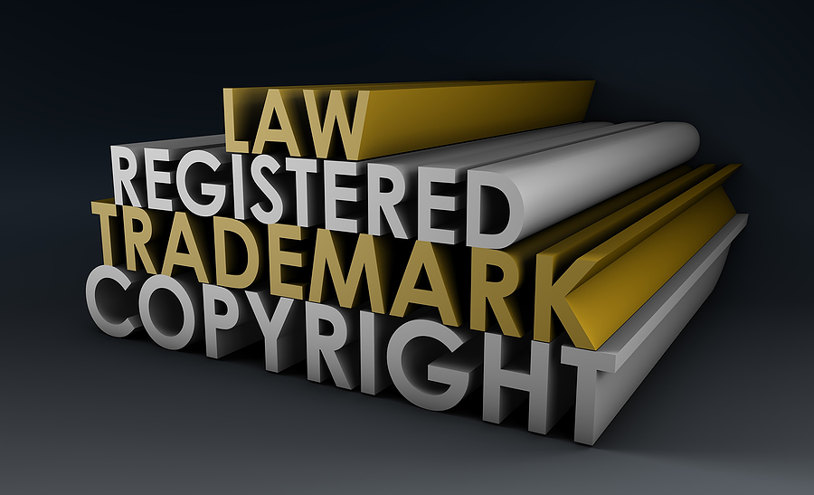 registered copyright trademark