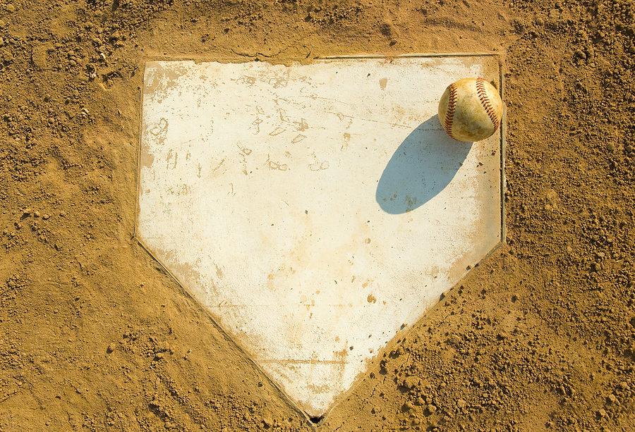 baseball diamond plate