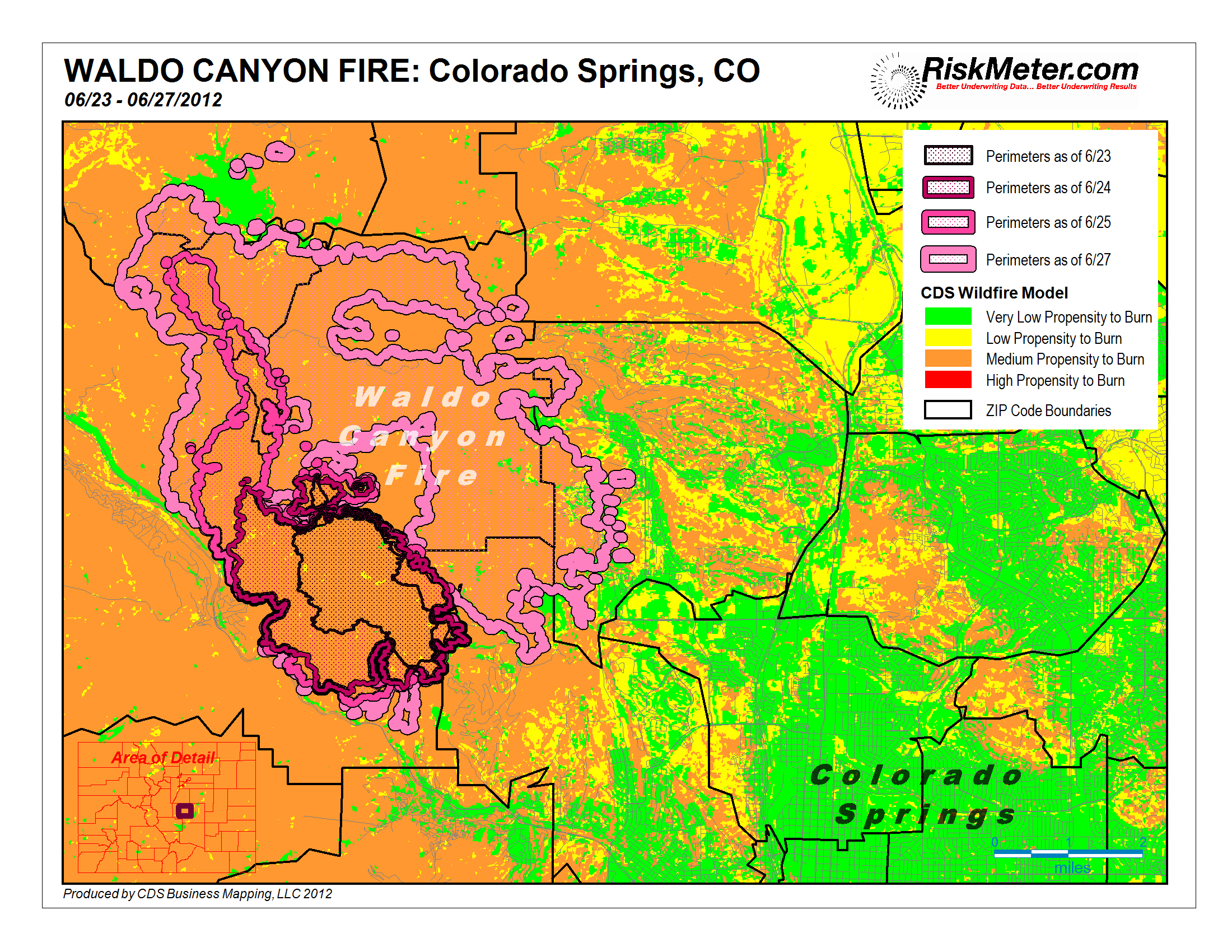 Colorado Fire Threatens Thousands Of Residences