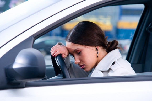 driver fatigue causes 20 of auto crashes study