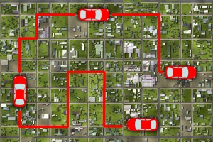 A study by claims telematics data can show where drivers are going, unbeknownst to most users of the technology.