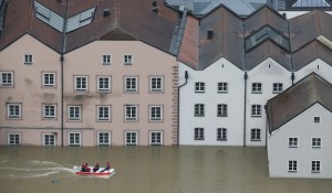 Flooding in Passau in southern Germany AP Photo