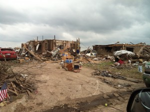 Tornado damage in Moore, Okla. Photo: Enservio