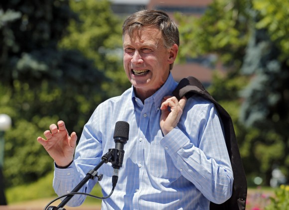 Colorado Gov. John Hickenlooper (AP Photo)