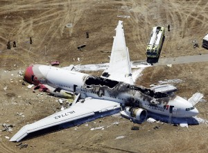 Asiana Plane Wreckage (AP Photo/Marcio Jose Sanchez)