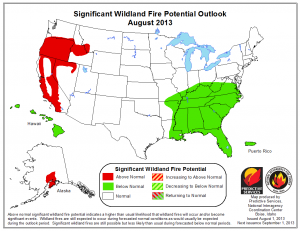 Interagency Fire Outlook