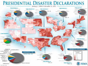 Presidential disaster declarations