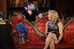 IICF and Sesame Street's The Count will appear on the Katie Couric Show on Thursday.