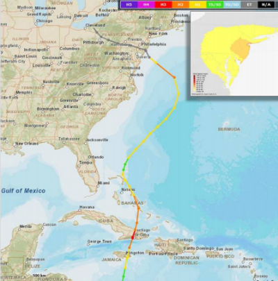 National hurricane center sandy report