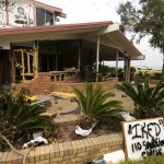 Waterfront House Destroyed by Hurricane Ike