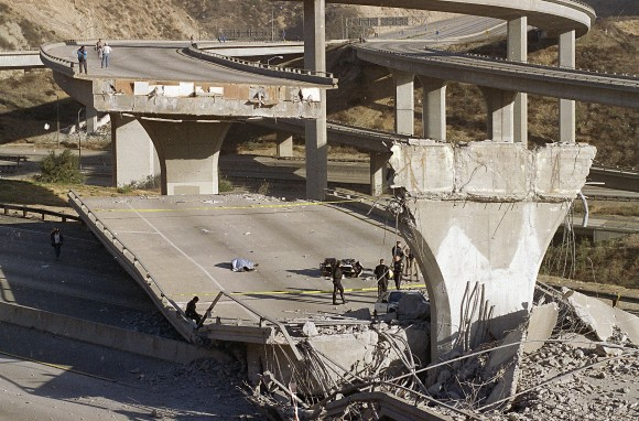 Northridge Earthquake, 1994 (AP Photo)
