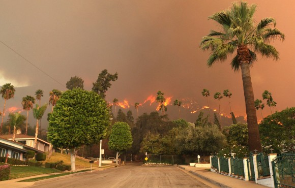 California Wildfire 2014 (AP Photo)