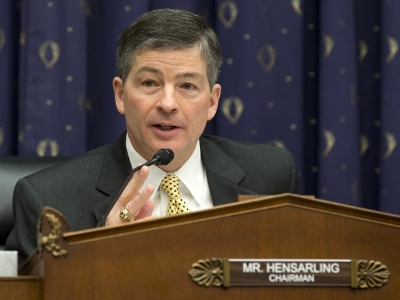 House Financial Service Committee Chairman Rep. Jeb Hensarling, R-Texas.  (AP Photo/Carolyn Kaster)