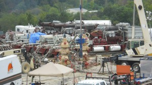 Marcellus Shale Drill Site; Photo - USGS