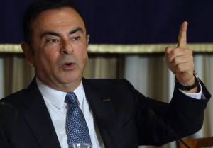 Nissan CEO Carlos Ghosn Bloomberg Photo