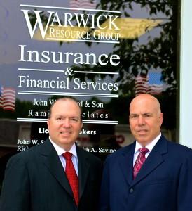 Keith Savino (L); Richard Savino (R) of Warwick Resource Group.
