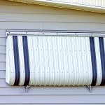 Hurricane Protection Aluminum Shutter