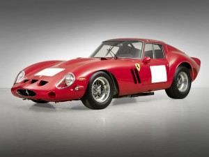 A Ferrari 250 GTO Berlinetta became easily the most expensive car sold at auction by when a bidder at a California auction agreed to buy it for $38.1 million. Courtesy of Bonhams
