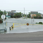 Waters Rise in Galveston