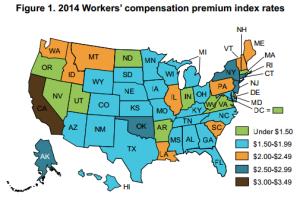 2014 Oregon WC Premium Ranking