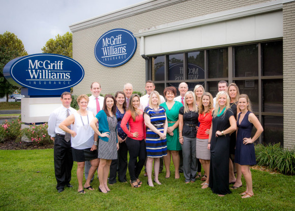 Employees at McGriff-Williams Insurance say they enjoy the teamwork and positive culture the agency's leadership instills.