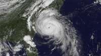 Hurricane Arthur July 3, 2014 NOAA Satellite Image (Photo: NOAA)