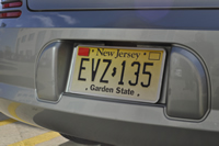 New Jersey Graduated Driver Licensing (GDL) decal