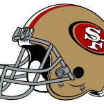 San Francisco 49ers Official Helmet