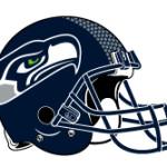Seattle Seahawks Official Helmet